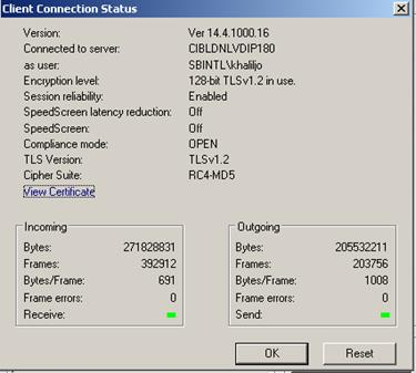 Session reliability and XD/XA TCP profile on XenDesktop 7 15